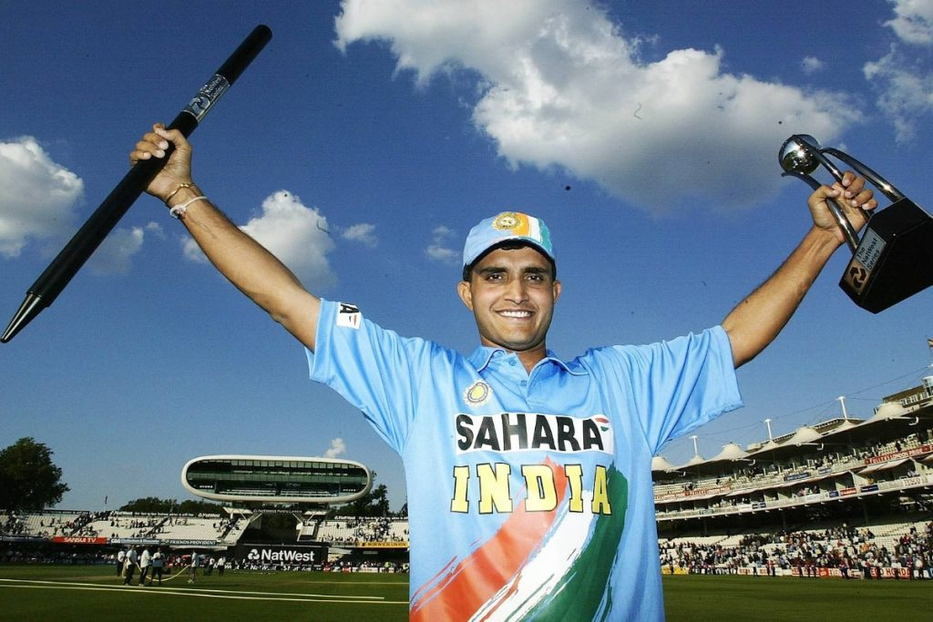 Sourav Ganguly After Cricket Match Victory