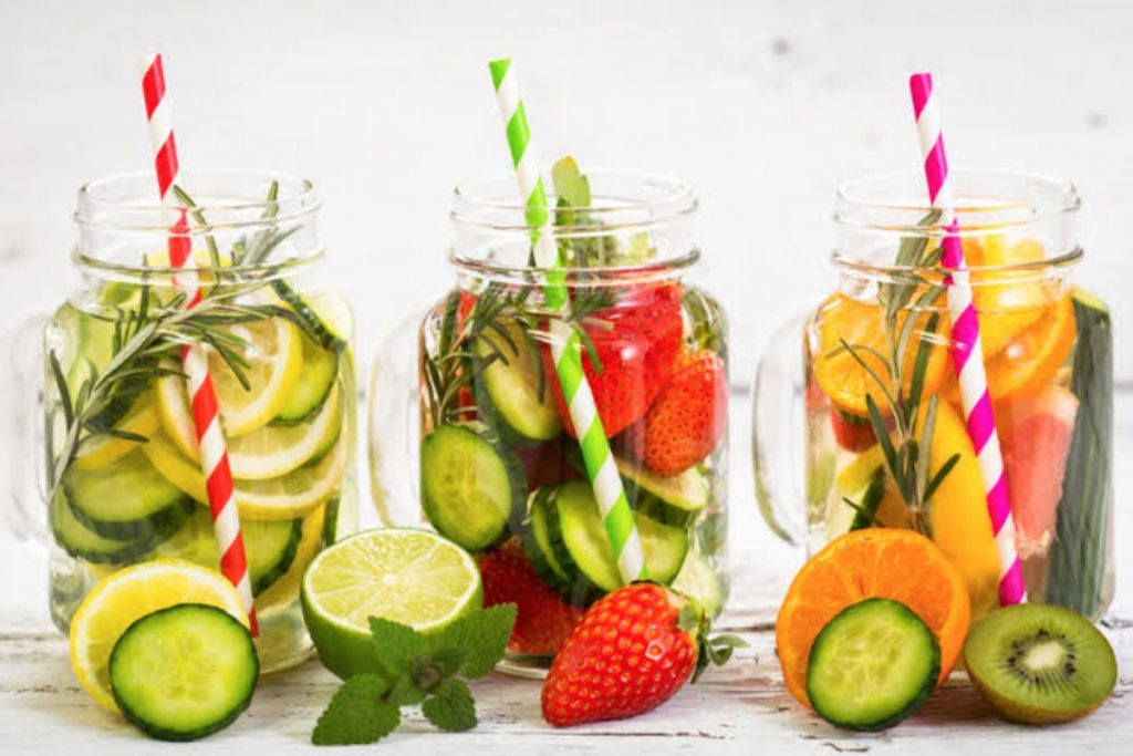 Go for infused water