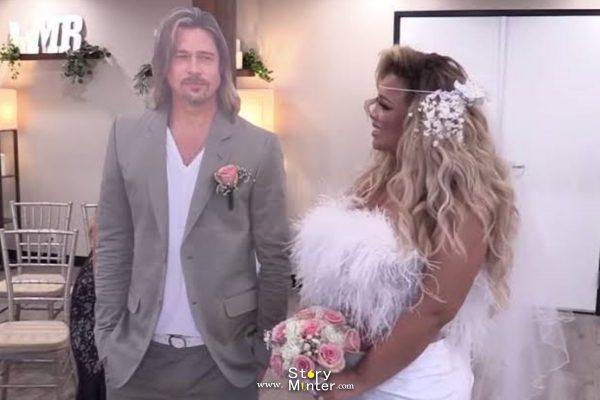 Trisha Paytas weds Brad Pitt