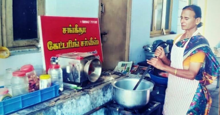 Once Homeless, Tamil Transwoman Blazed a Trail With Her Successful Catering Business