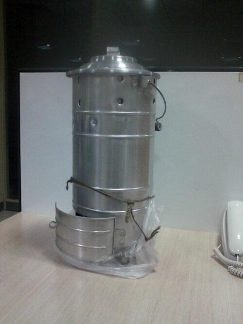 Um fogão Icmic.  Fonte da foto: Wikipedia