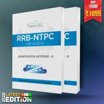 RRB-NTPC Quantitative Aptitude (2 Books) Toppers Handwritten Notes (English) Latest Edition 2020