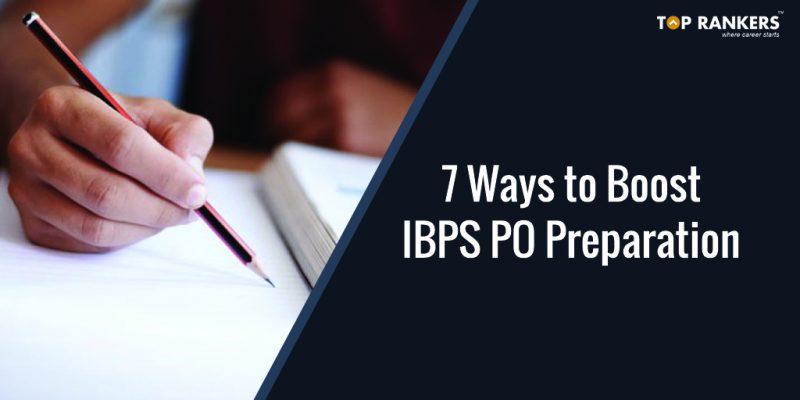 boost IBPS PO Preparation
