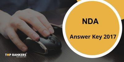 NDA Answer Key 2017 – Download UPSC NDA 1 Answer Key