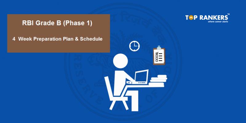 RBI Grade B Study Plan