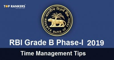 RBI Grade B Time Management Tips 2019
