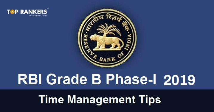 rbi grade b time management tips