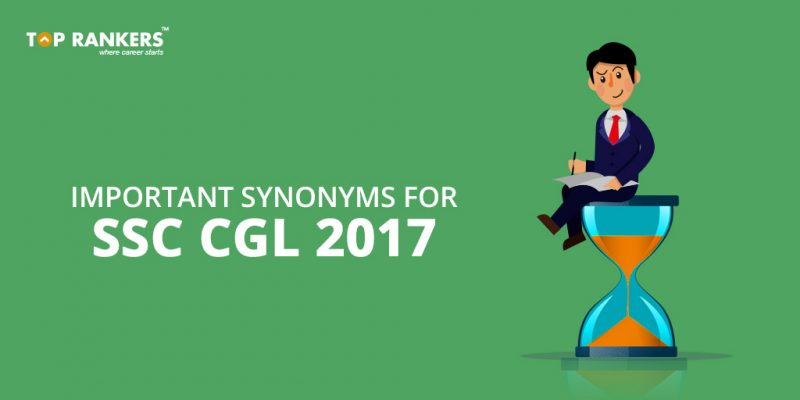 Synonyms for SSC CGL Preparation