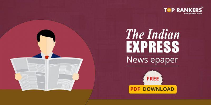 INDIAN EXPRESS EPAPER FREE PDF DOWNLOAD 2017