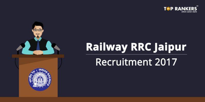 Railway RRC Jaipur Recruitment 2017