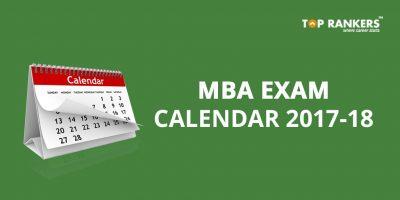 MBA Exam Calendar 2017-18