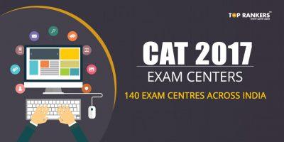CAT 2017 Exam Centers