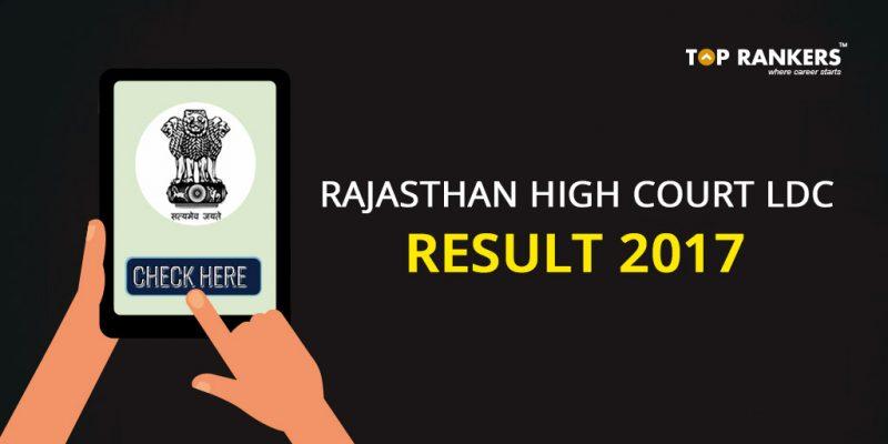 Rajasthan High Court LDC Result 2017
