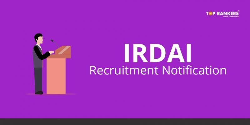 IRDAI Recruitment