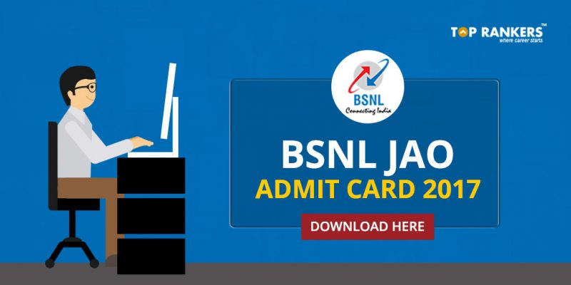 BSNL JAO Admit Card Released