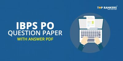 IBPS PO Question Paper with Answer PDF Download