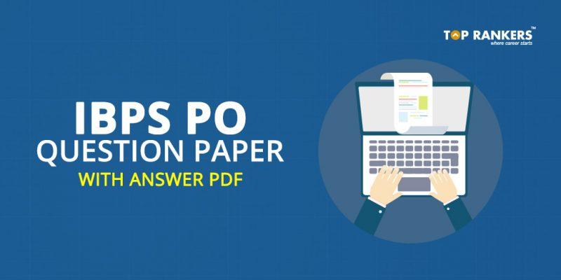 IBPS PO question paper