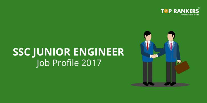 SSC Junior Engineer Job Profile
