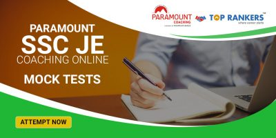 Paramount SSC JE Coaching Online – Practice test, Practice Paper and Mock Tests
