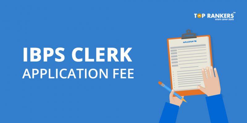 IBPS Clerk Application Fee