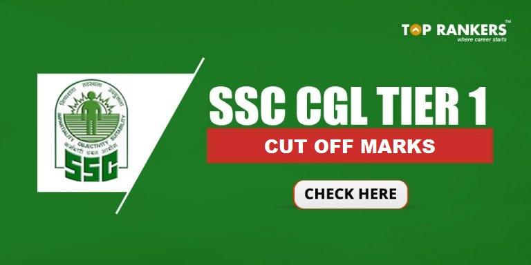 SSC CGL Tier 1 2017 Cut off