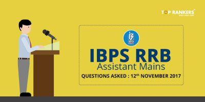 IBPS RRB Clerk Mains Questions Asked 12th November 2017