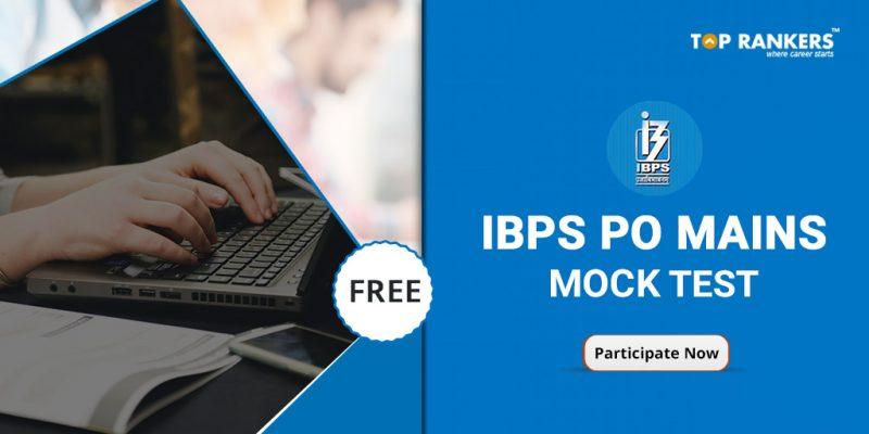 IBPS PO Mains Question Paper