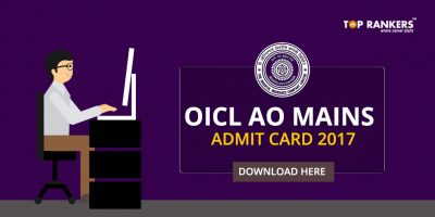 OICL AO Mains Admit Card 2017 Out