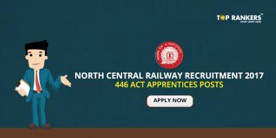 North Central Railway Recruitment 2017