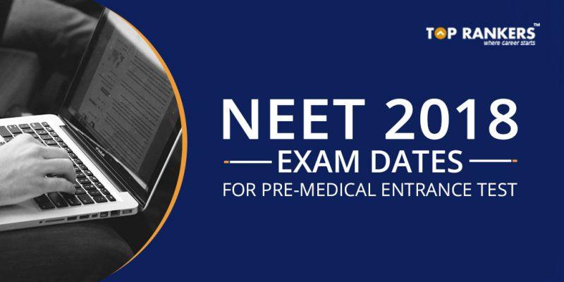 NEET Exam Date 2018
