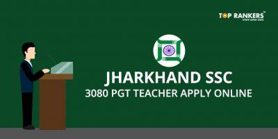 Jharkhand SSC PGT Recruitment 2017 – Direct Link to Apply