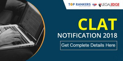 CLAT Notification 2018