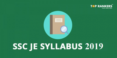 SSC JE Syllabus 2019 | Check Latest Syllabus for Paper 1 & 2 of CE, EE & ME
