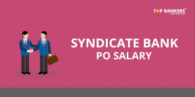 Syndicate Bank PO Salary