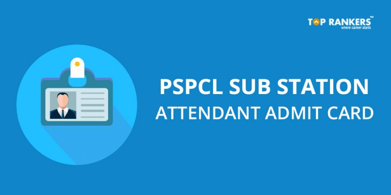 PSPCL Sub Station Attendant Admit Card