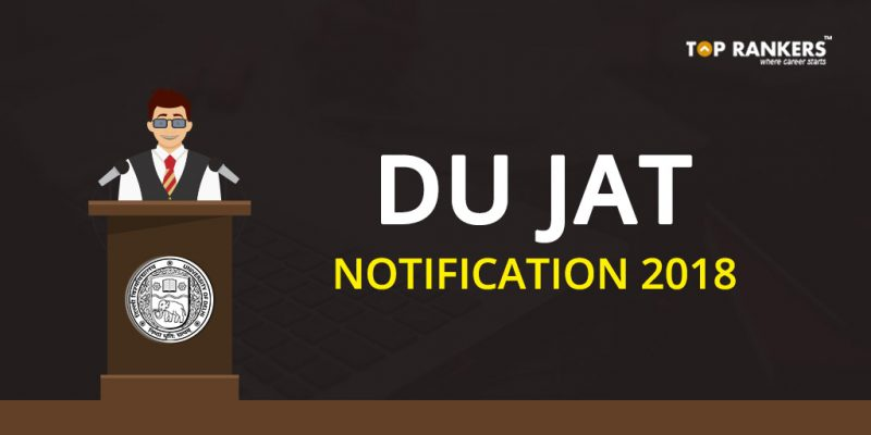 DU JAT EXAM Notification