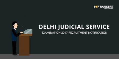 Delhi Judicial Services Exam 2018