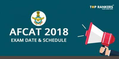 AFCAT 1 2018 Exam Date