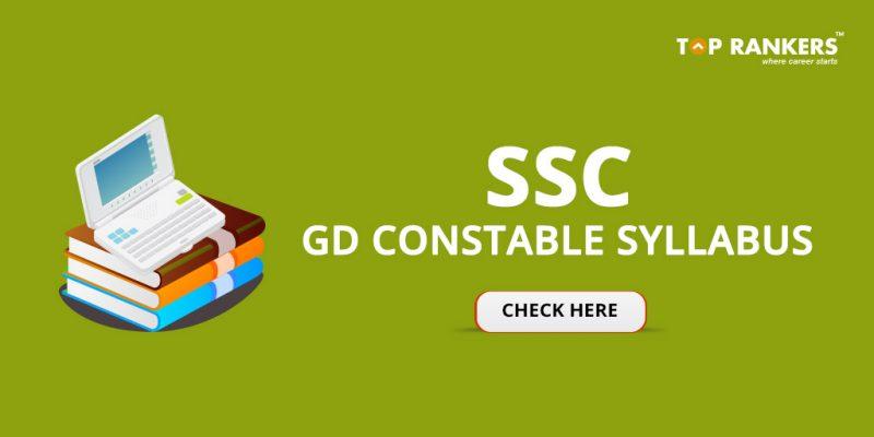 SSC GD Constable Syllabus