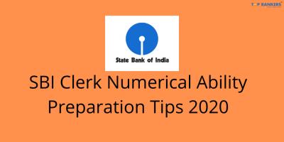 SBI Clerk Numerical Ability Preparation Tips 2020