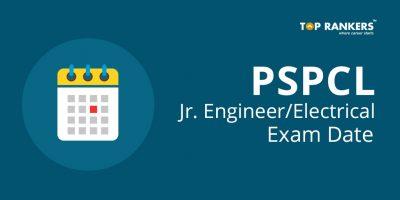PSPCL Junior Engineer/Electrical Exam Date