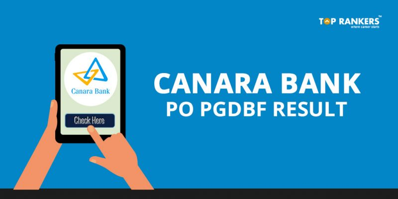 Canara Bank PO Result