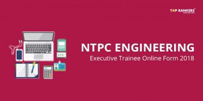 NTPC Engineering Executive Trainee Online Form 2018