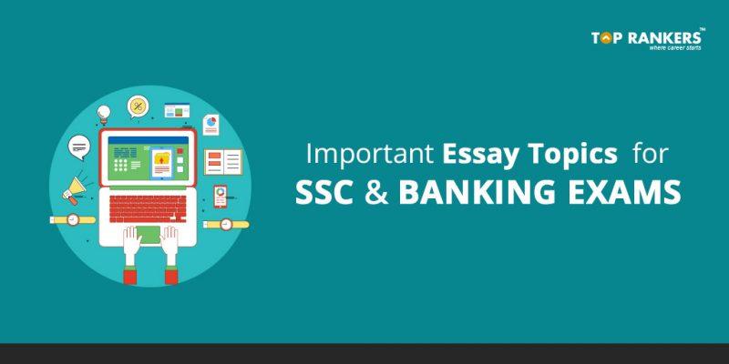 SBI PO Essay Topics