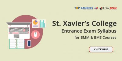 St. Xavier's College Entrance Exam Syllabus 2018 – Check Detailed Syllabus & Pattern for BMM & BMS Courses