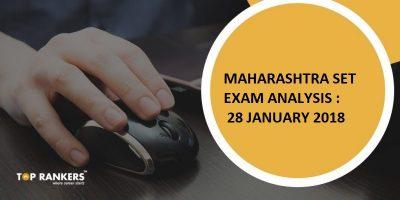 Maharashtra SET Exam Analysis 28 January 2018 : Questions Asked, Cut off Marks