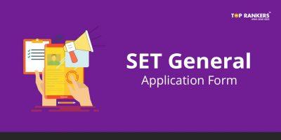 SET General application form