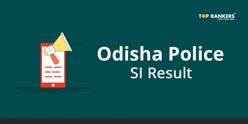 Odisha Police SI Result