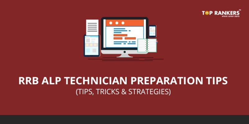 RRB ALP Preparation Tips
