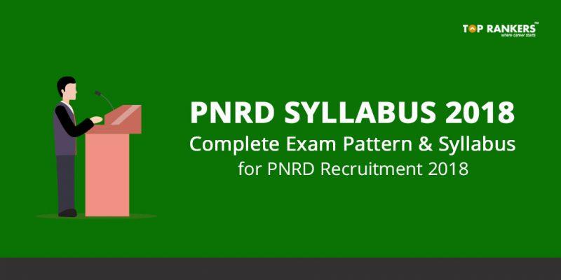 PNRD Syllabus 2018